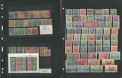 China Collection on 6 Stock Pages, Early Cancels, Revenues, Interesting Lot