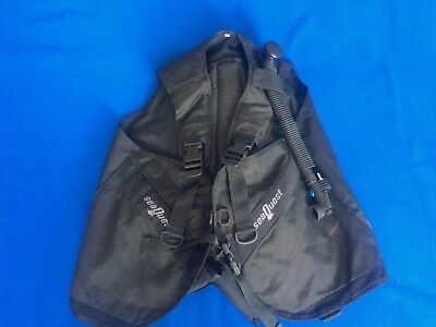 SeaQuest Tauchjacket, Tauchweste Gr. XL Made in USA - Top Zustand