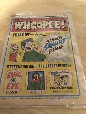 Whoopee Comic No1 9th March 1974 No free gift Vgc RARE Ipc Retro Vtg