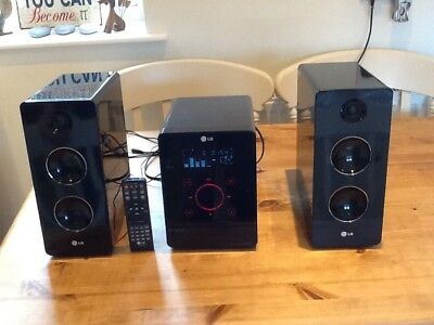 LG Micro Hi-Fi System CD Radio, Touch Screen