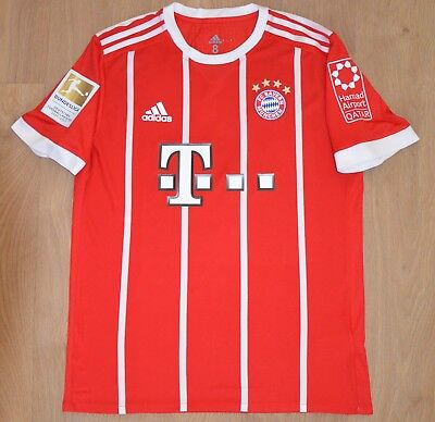 FC Bayern Munich 2017/2018 Match Issued Specification Shirt Lewandowski 9