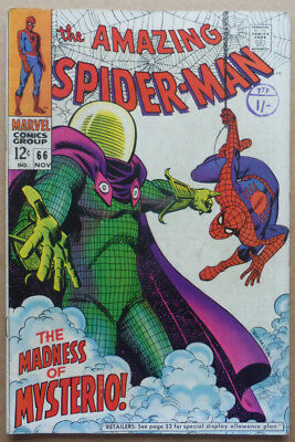 The Amazing Spiderman #66, A Silver Age Classic, 1968.