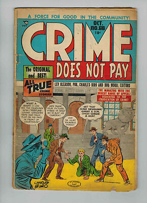 Crime Does Not Pay #68 (Oct 1948, Lev Gleason)
