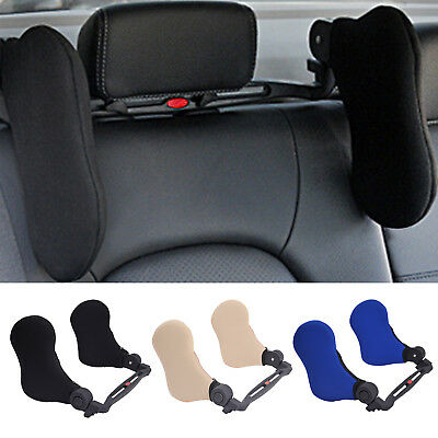 Auto Car Seat Head Neck Rest Headrest  Safety Pillow Pad Support Travel Cushion