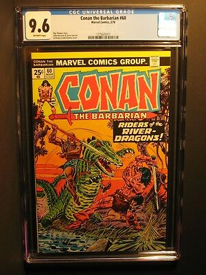 Conan the Barbarian  #60  CGC 9.6  3/76   John Romita Cover!!  NO RESERVE
