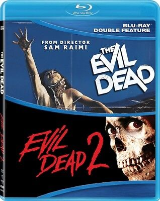 THE EVIL DEAD + EVIL DEAD 2 New Sealed Blu-ray Double Feature
