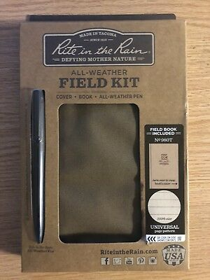 Rite in the Rain 980T-Kit Coyote Tactical Field Kit All Weather USMC