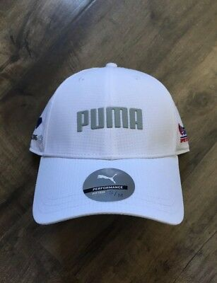 half off 77562 680f6 White Puma Hat NEW WITH TAGS