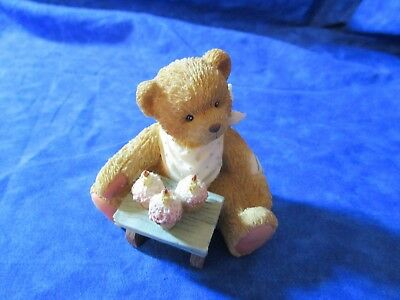 Cherished Teddies Birthday Three Cheers For You