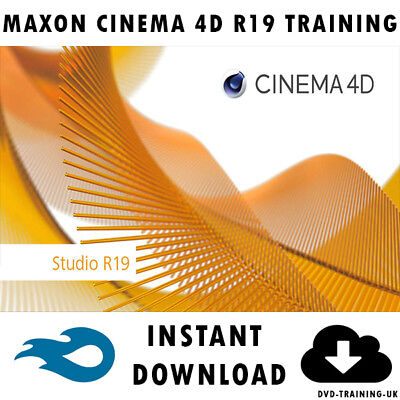 MAXON CINEMA 4D R19 – Professional Video Training Tutorial - Instant  Download
