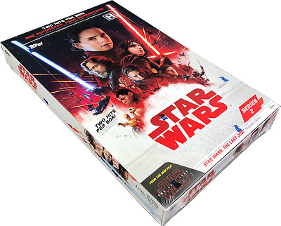 2018 Topps Star Wars The Last Jedi Series 2 FACTORY SEALED Hobby Box Free S&H