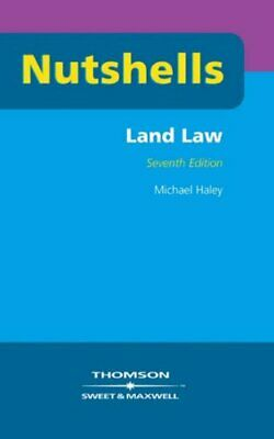 Land Law (Nutshells) by Michael Haley Paperback Book The Cheap Fast Free Post