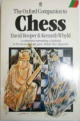 The Oxford Companion to Chess (Oxford Paperback Reference) Paperback Book The