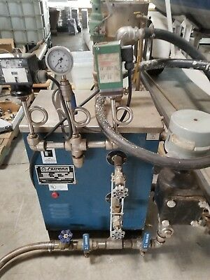 Stainless Sussman Boiler 17kw 1.7hp 100psi Electric Steam Generator Boiler