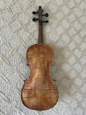 Vintage Full Size Violin Wonderful Sweet Voice Repaired by Mays Badgett