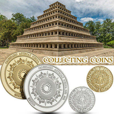 Mexican Mayan Civilization Collection Commemorative Coins Crafts Challenge Coin