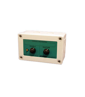 Autronica BW-200 Disable Input Unit with push buttons GB