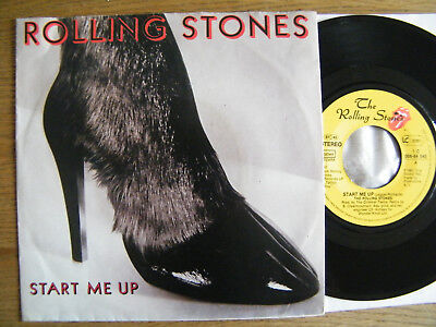 7` The Rolling Stones - Start Me Up / No Use In Crying