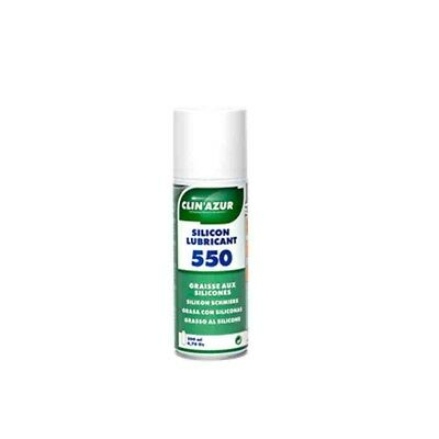 Graisse silicone - spray de 200 ml - CLIA-550 - 3700302901049
