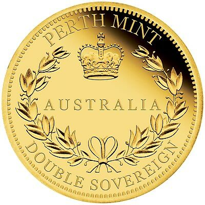 2018 $25 Australian Double Sovereign Gold Proof Coin - Perth Mint