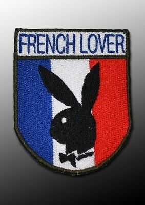 """écusson patch France """"french lover"""""""