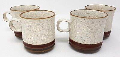 "Denby Potters Wheel - 4 x 3.5"" Tall x 3.25"" Diameter Mugs - Tea/Coffee."