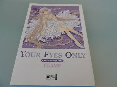 CLAMP Chobits Artbook- Your Eyes Only