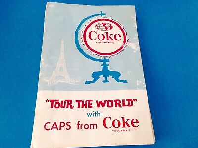 """tour The World"" Vintage Coke Bottle Cap Collection Because Coke Is It"