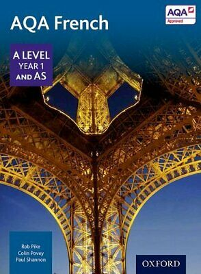 AQA A Level Year 1 and AS French Student Book by Shannon, Paul Book The Cheap