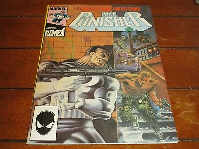 The Punisher #2 (1986, Marvel) COMIC BOOK High Grade LIMITED SERIES