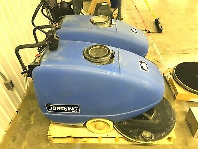 Windsor Lightning 22FT Floor Burnisher / Buffer, L22FT w/ 36V Charger Set of 2