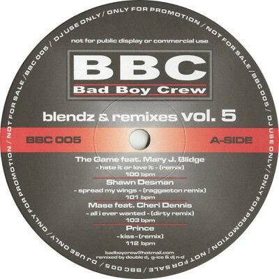 "Various - Blendz & Remixes Vol. 05 Vinyl 12"" 0715003"
