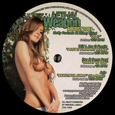 "Various - Lethal Weapon - August 2007 Vinyl 12"" 0715005"