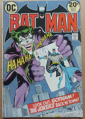 Batman #251, Classic Cover With The Joker!!