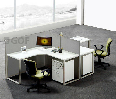 GOF L-Shaped Office Partition 48D x 90W x 48H / Freestanding, Room Divider