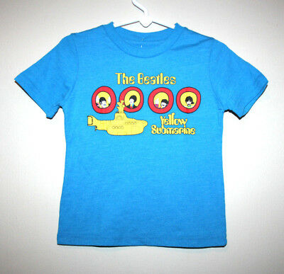NEW Kids Baby Boys Girls THE BEATLES Yellow Submarine Rock T-Shirt 18 Months NWT
