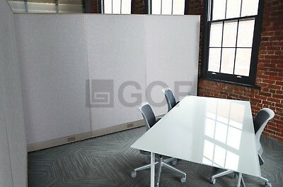 GOF L-Shaped Freestanding Partition 102D x 108W x 48H / Office, Room Divider