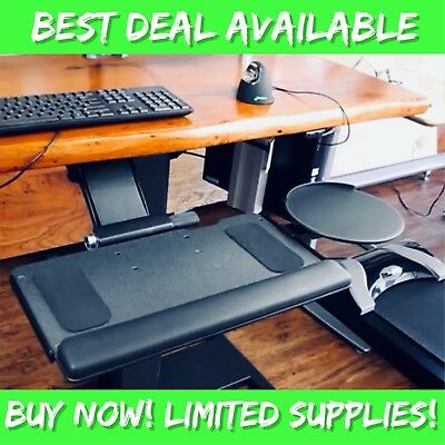 """Humanscale Keyboard System! NEW 6G Series with 900 Tray & 8.5"""" Mouse Platform"""
