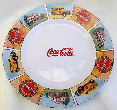"Gibson Coca Cola 11"" Porcelain Fine China Plate"