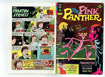 The Pink Panther 31 (Gold Key 1976)Pinkenstein