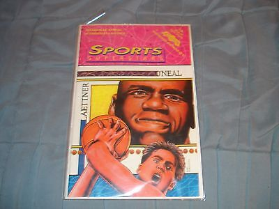 Sports Superstars Shaquille O' Neal & Christian Laettner Comic