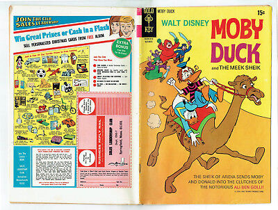 Moby Duck 11 (Gold Key 1970) Kay Wright, 2 stories