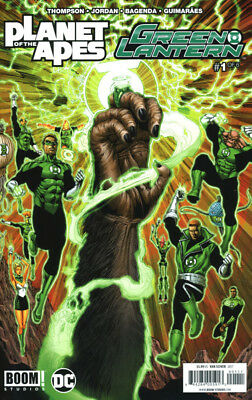 Planet of the Apes Green Lantern #1 BOOM DC 2017