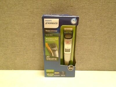 Philips Norelco Beard trimmer Series 3500, 20 built-in length settings, QT4018/