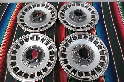 "1960's 1970's FORD BRONCO 4X4 PICKUP TRUCK 15"" HUBCAPS WHEEL COVERS HUB CAPS"