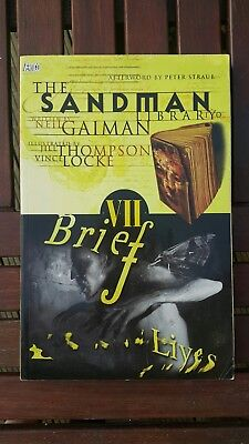 Neil Gaiman's The Sandman vol. 07 – Brief Lives softback vertigo 1993