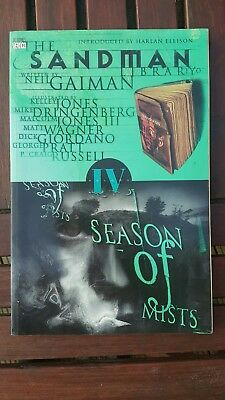 Neil Gaiman's The Sandman vol. 04 – Season of Mists softback vertigo