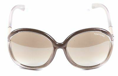4ac2afee5 TOM FORD PINK Pearlized Oversized Round Acetate Sunglasses - $94.00 ...