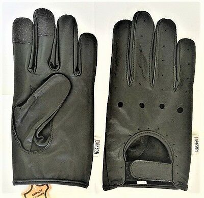 Large Mens Cowhide Leather Dressing Driving Gloves Unlined New Rk-1035