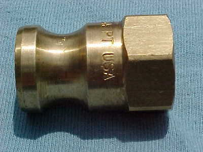 Pt Eo5A Brass Camlock Adapter  Fitting